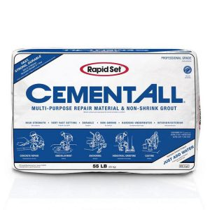 rapidset cement repair compound